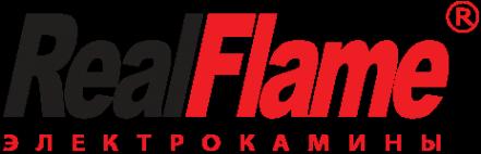 Логотип компании Real-Flame