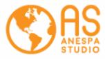 Логотип компании Anespa Studio