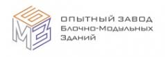 Логотип компании Опытный завод блочно-модульных зданий