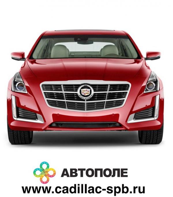Логотип компании Официальный дилер Cadillac - Автополе