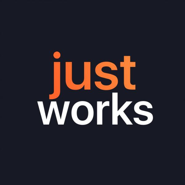 Логотип компании justworks