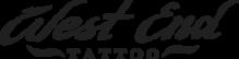 Логотип компании Студия тату и пирсинга «West End»