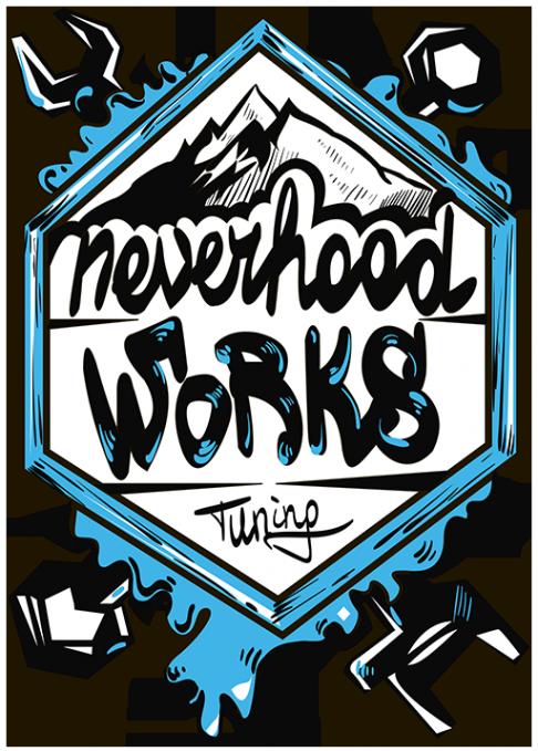 Логотип компании Neverhood Works