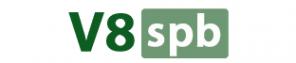 Логотип компании V8SPB