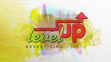 Логотип компании Level UP
