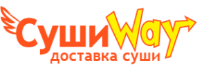 Логотип компании Суши Way