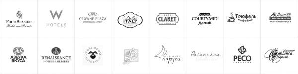 Логотип компании Вкус кофе