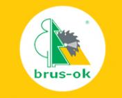 Логотип компании БРУС-ОК