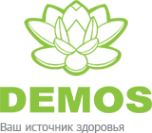 Логотип компании Демос