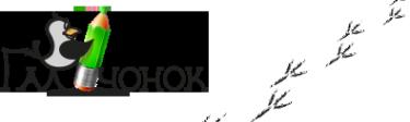 Логотип компании Галчонок