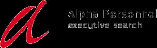 Логотип компании Альфа Персонал