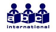 Логотип компании ABC International