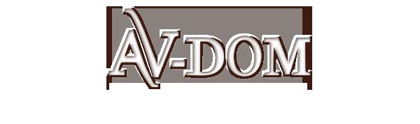 Логотип компании АВ-ДОМ