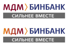 Логотип компании Бинбанк