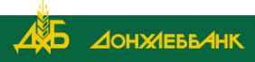 Логотип компании Донхлеббанк